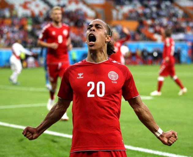 Poulsen helps Denmark to opening win | Otago Daily Times Online News