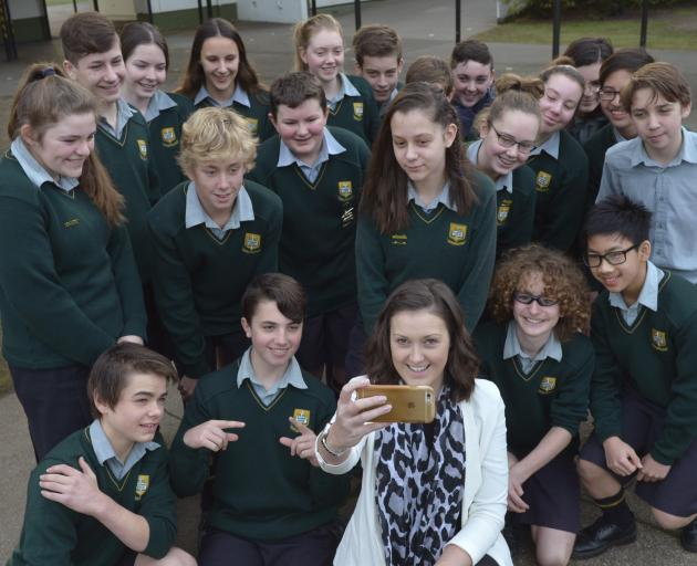 University of Otago marketing department professional practice fellow Leanne Ross takes a selfie...