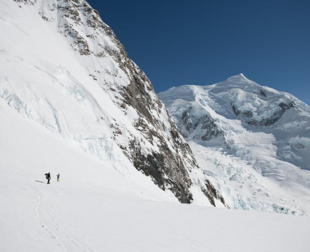 A Wanaka-made film about a group of adventurers climbing and skiing down Mt Cook is one to look...