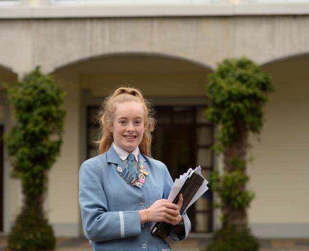 St Hilda's  pupil Tamara Mason plans to study business at university. Photo: Linda Robertson