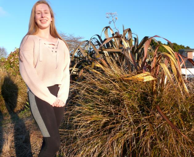 Waipahi teen Linda Bos is more at home in gumboots on her parents' South Otago farm but happy to...