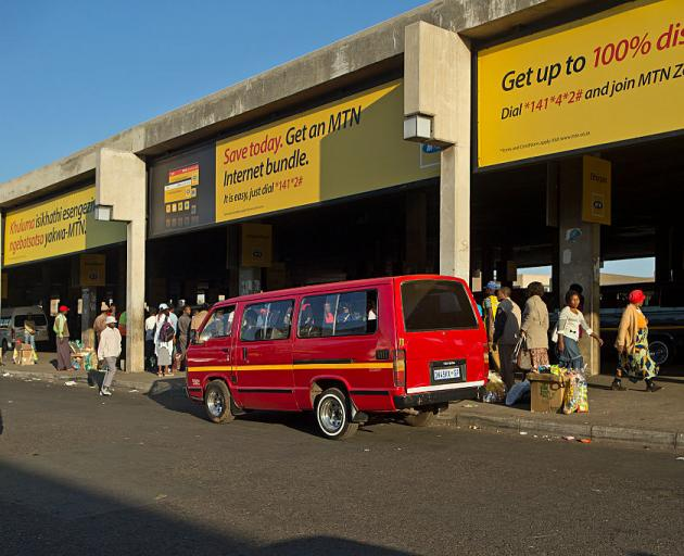 Eleven taxi drivers killed as gunmen storm minibus in South Africa