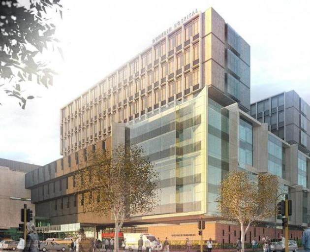 An artist's impression of what Dunedin's new hospital could look like. Image: Supplied