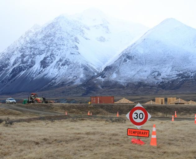 Construction has begun in the Ahuriri Valley on what appears to be the set of Disney's film Mulan...