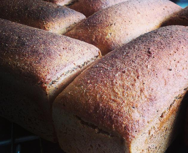 The People's Bread, fresh from the oven and delivered in brown paper bags to your door. Photo:...