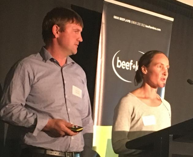 Culverden farmers Dan and Mandy Shand share their story of producing honey on the 7000ha Island Hills Station. Photo: David Hill