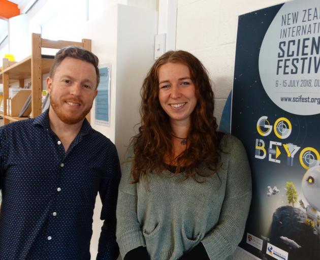 New Zealand International Science Festival director Dan Hendra (left) and South Dunedin programme...