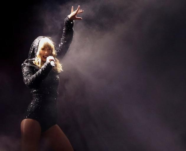 Singer Taylor Swift performs during her reputation stadium Tour at Wembley Stadium in London. Photo: Reuters