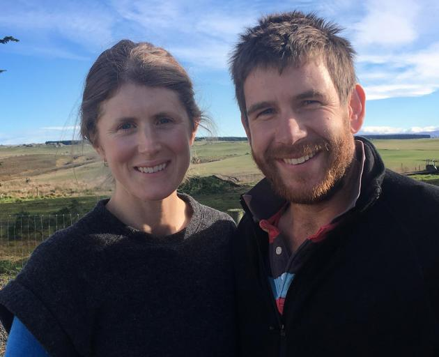 Nadine and Scott Tomlinson during a Red Meat Profit Partnership Action Network group meeting at...