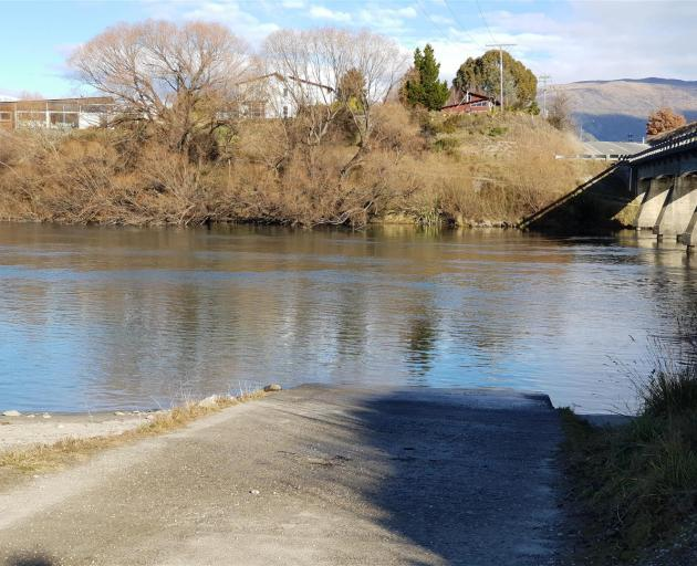 A hearing on an application from a Wanaka jet-boat operator to use the Albert Town boat ramp as a loading point will be held this afternoon. Photo: Sean Nugent