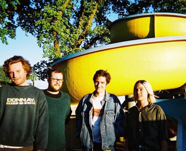Wurld Series (left to right) Luke Towart, Brian Feary, Ben Woods, Abi Macilquham. Photo: Supplied