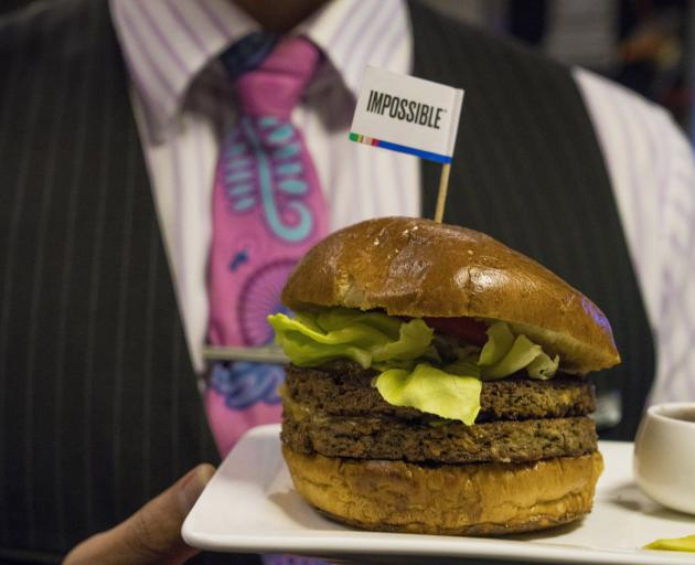 cience has enabled Air New Zealand's Impossible Burger to taste more like the real product. Photo: Allied Press Files