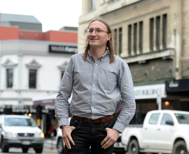 Dunedin City Council heritage planner Dan Windwood has resigned. Photo: Linda Robertson