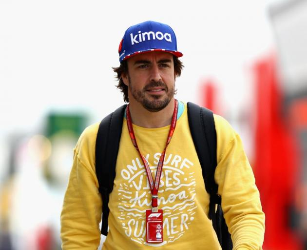 Fernando Alonso. Photo: Getty Images