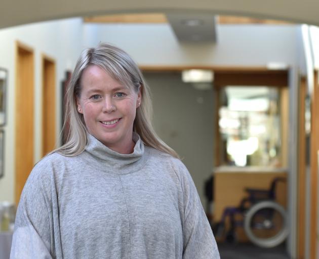 Otago Community Hospice chief executive Ginny Green. Photo: Peter McIntosh
