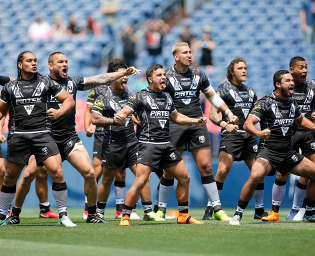 Kiwis players are still owed their match fee from the test they played against England in Denver...