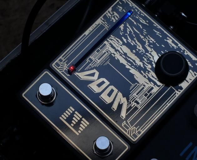 Nicholson's Doom faceplate.
