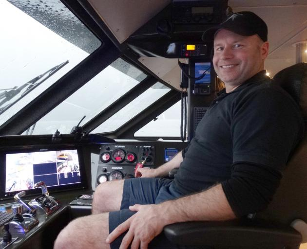 Fiordland Discoveries co-owner/operator Rob Swale.