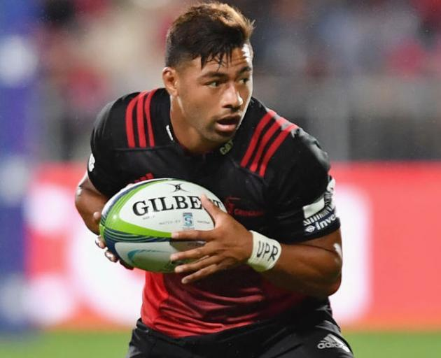 Richie Mo'unga has become increasingly pivotal to the Crusaders. Photo: Getty Images
