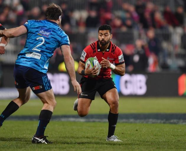 Richie Mo'unga has been influential for the Crusaders in Super Rugby this year. Photo: Getty Images