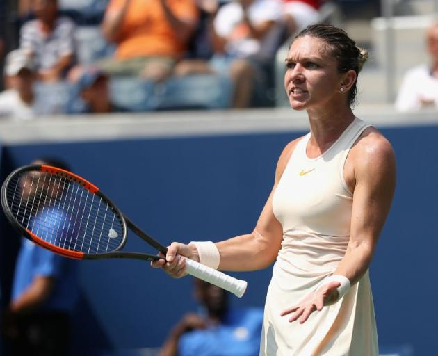 No. 1 seed Simona Halep loses in first-round at US Open