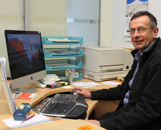 Head of the section of rural health at the University of Otago Garry Nixon looks forward to creating more opportunities for health professionals to be encouraged into rural areas. Photo: Ella Stokes