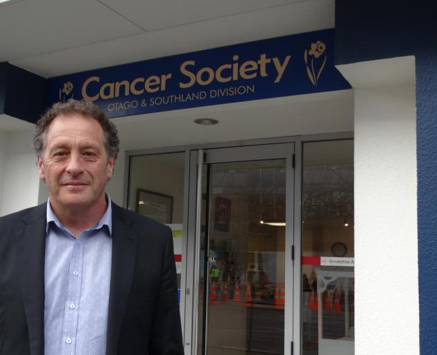 Cancer Society Otago-Southland acting chief executive Mark Hamer had the support of the society's Supportive Care service when he lost his mum to cancer in 2016. Photo: Brenda Harwood