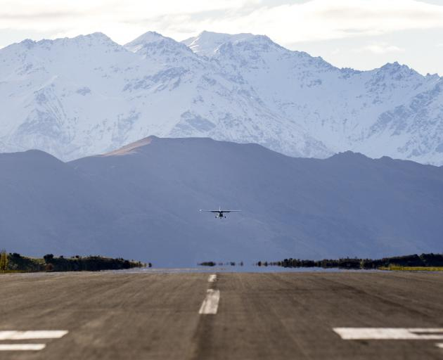 Planning for the future of Wanaka Airport is under way. Photo: Michael Thomas