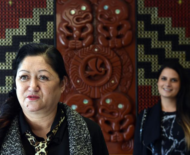 Dunedin Women's Refuge manager Wenda Parata-Muir (left) and staff member Sara Kuzmanovic. PHOTO:...