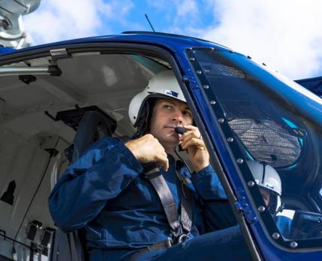 Richie McCaw became a partner with Christchurch Helicopters towards the end of his playing days...