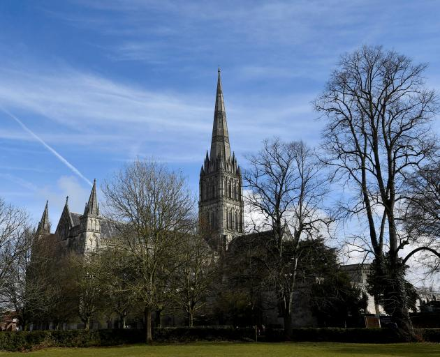 Salisbury Cathedral, in Salisbury. Photo: Reuters