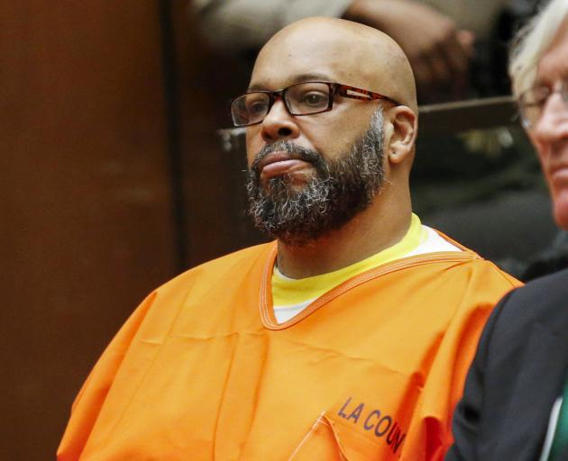 """Marion """"Suge"""" Knight appears in court in Los Angeles. Photo: Reuters"""