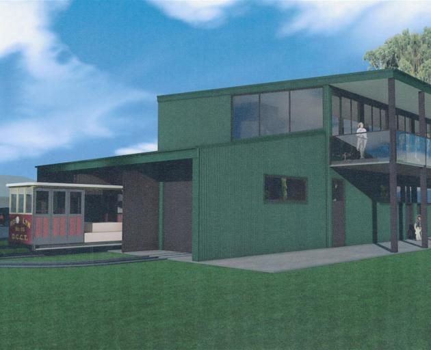 Plans for the proposed stage two Mornington cable car building. GRAPHIC: WYATT + GRAY ARCHITECTS