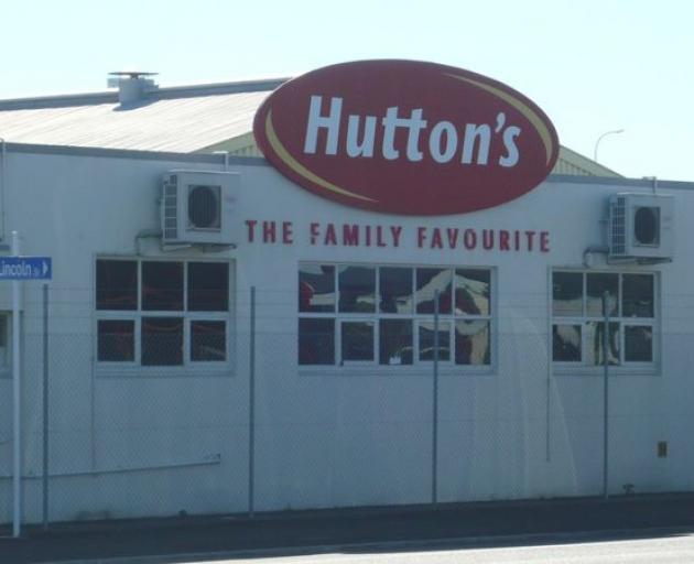 The former Hutton's factory in Hamilton Photo: RNZ