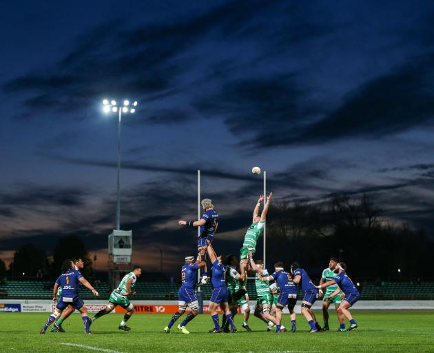 Otago put on a second half masterclass to blow away Manawatu in Palmerston North tonight. Photo:...