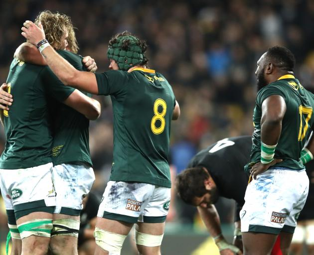 South Africa set new Test record in stunning All Blacks upset