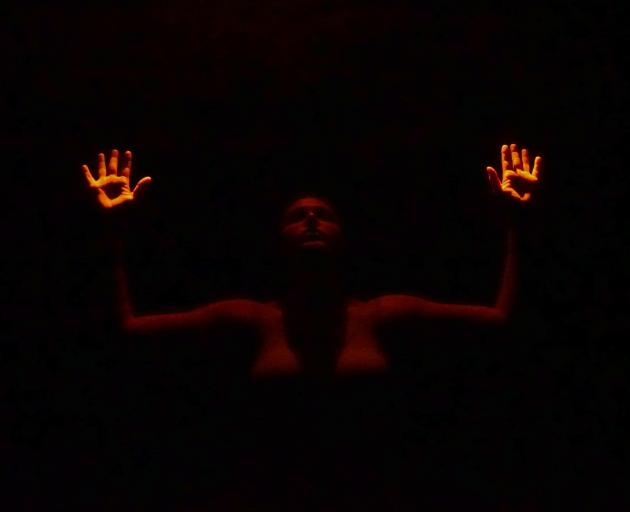 Leah Carrell dances in Dark Matter. PHOTO: SUPPLIED
