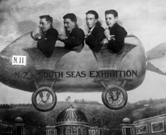 A souvenir photo from the New Zealand and South Seas International Exhibition of 1925-26. Photo:...