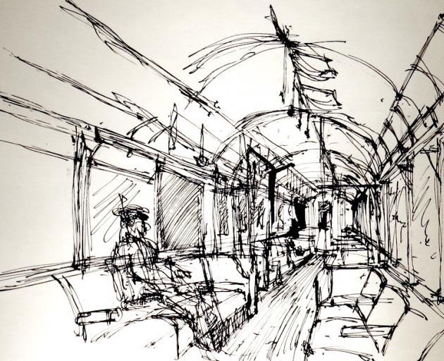 London Tube, by John Drawbridge