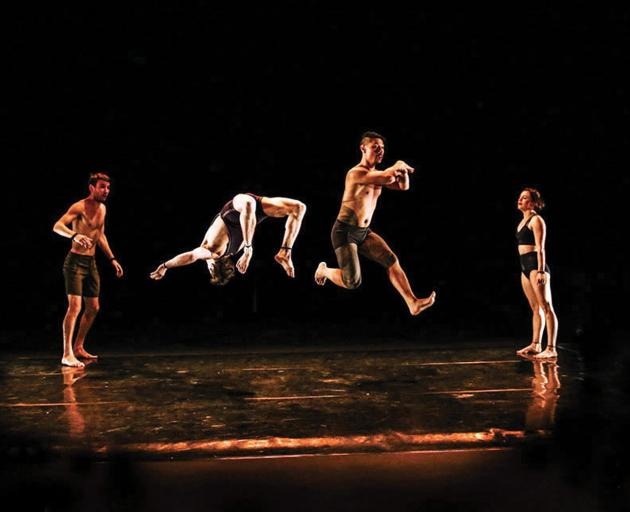 Knee Deep is the premiere work of Casus, an Australian chamber circus troupe. Photos: Supplied