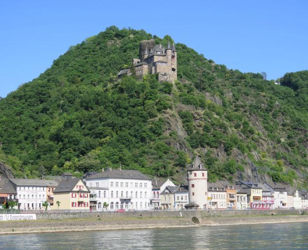 Medieval castles along the banks of the Rhine. Photos: Mike Yardley