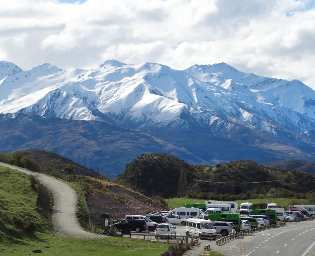 Hikers are making the most of the Roys Peak walking track before it closes for lambing for over a...