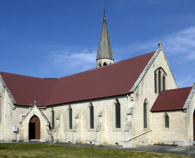 The former St John's Presbyterian Church in Herbert now houses the collection of the New Zealand Organ Museum Trust.