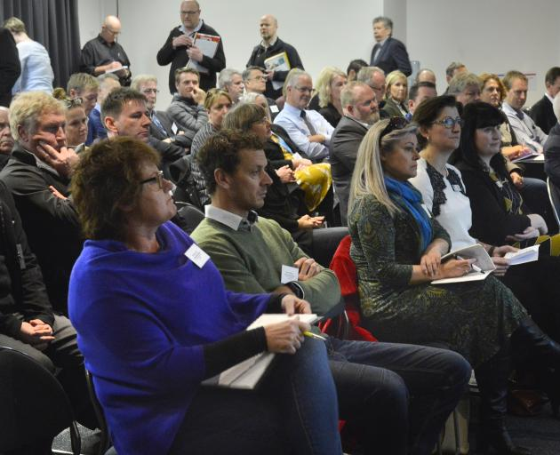 The workforce seminar was held at the Dunedin Public Art Gallery yesterday. Photo: Gerard O'Brien