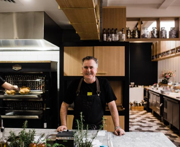 Simon Gault will appear at the Fresh Food Show as part of The Great Kiwi Home and Living Show on November 3.  Photo: Supplied