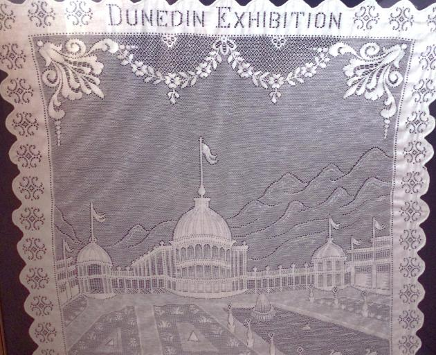 Regarding the 1925-26 Dunedin and South Seas Exhibition, Mary Hay says her husband ``came home...