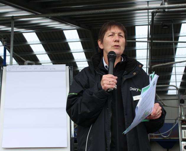 DairyNZ senior scientist Dr Dawn Dalley will update farmers about research under way at the Southern Dairy Hub at a field day on October 10. Photo: SRL archive