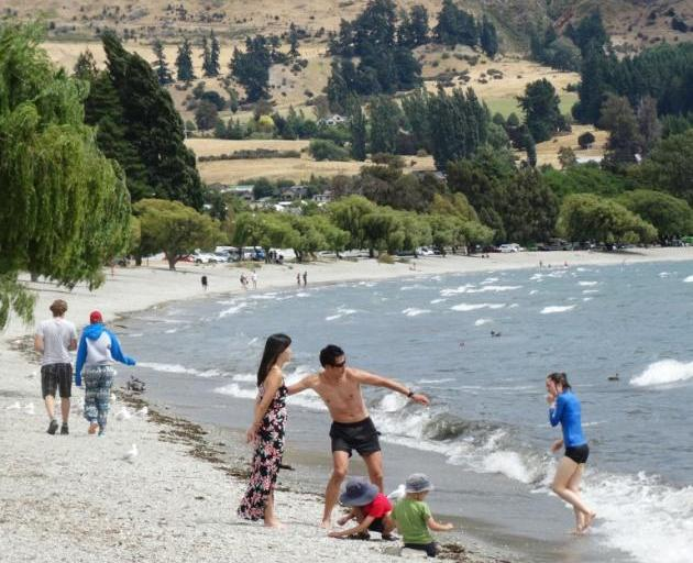 Wanaka is in the middle of an official heatwave, considered to be when the daily maximum...