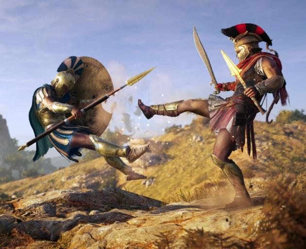 'Odyssey' incorporates gameplay options usually reserved for role-playing games: dialogue options, branching quests and multiple endings. Photo: Supplied
