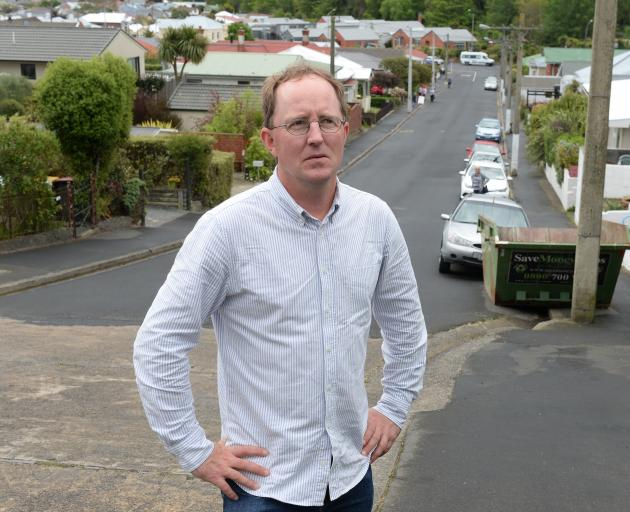 Baldwin St resident Andrew Cridge says the level of frustration directed at the Dunedin City Council during a meeting last week was surprising but it had been building for some time. Photos: Linda Robertson